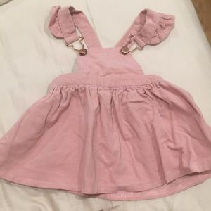 Nannette Baby Corduroy Overall Dress 3-6 Months